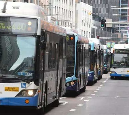 Photo of public transport buses