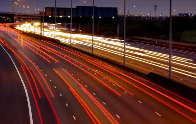 Skyway highway lighting control