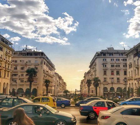 Traffic In Thessaloniki