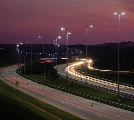 Highway lighting control systems